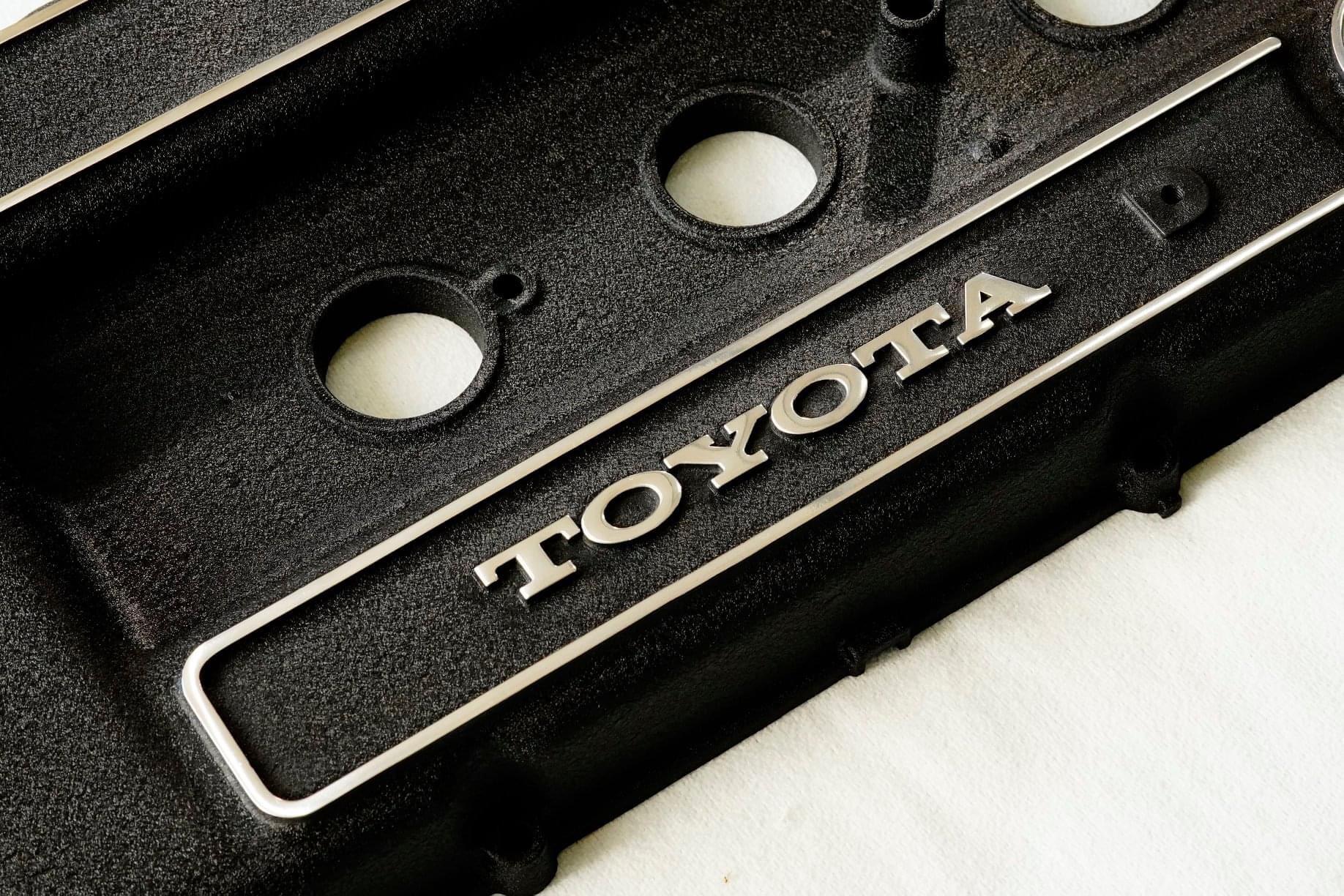 施工日記 TOYOTAダルマセリカ2000GT(RA21 / 18RG)エンジンヘッドカバー塗装